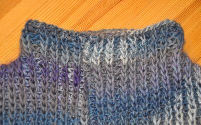 Niezapinany sweter