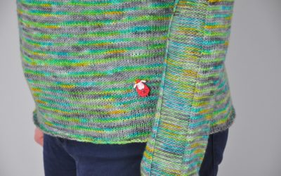 Zielony sweter – My own fantasy